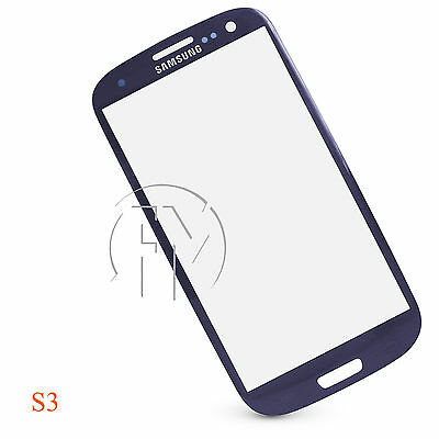 REPLACEMENT BLUE LCD SCREEN TOUCH DIGITIZER GLASS FOR SAMSUNG GALAXY S3 I9300