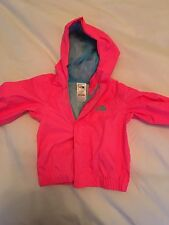 The North Face Full Zip Rain Jacket Baby Toddler Size 6-12 Months Pink
