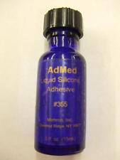 Mehron AdMed ~ Liquid Silicon Adhesive ~ Prosthetic ~ make-up ~ 15ml ~ 0.5fl.oz