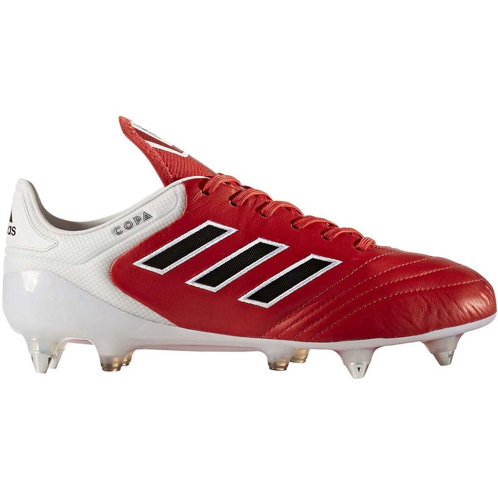 Adidas Performance Mens Copa 17.1 Soft Ground Football Soccer stivali  rosso