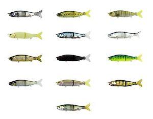 Capable River 2sea S Waver 168 S Dur Articulé Différentes Couleurs Bass Leurre Brochet Appât Maskinongé-afficher Le Titre D'origine