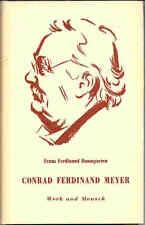 Franz Ferdinand Baumgarten, Conrad Ferdinand Meyer, Werk und Mensch, SELTEN 1948