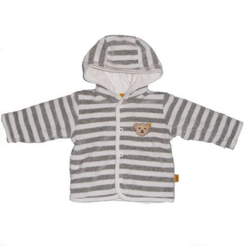 reduziert 2857 STEIFF Nicky Sweat-Jacke mit Kapuze in grey