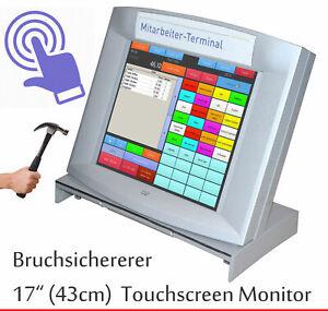 """Agressif 43 Cm 17"""" Tft Openframe Moniteur 3 M écran Tactile Siemens Winkor Ep17ad51 Sûr!!!-afficher Le Titre D'origine"""
