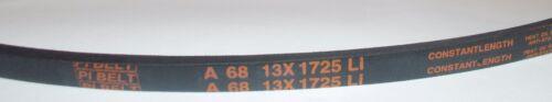 CINGHIA// BELT// CORREA// SERIE A A 68-13X1725