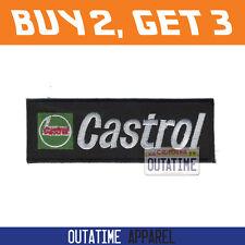 Offer Buy 2,Get 3   Team Castrol Embroidered Logo Crest Badge Patch 11.5cm (W)