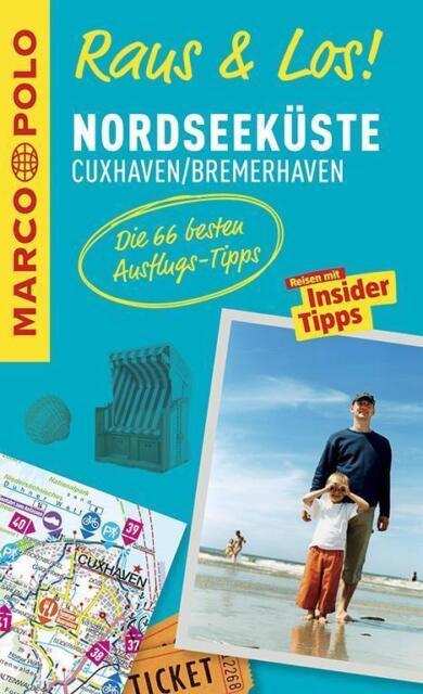 Nordseeküste Cuxhaven Bremerhaven Raus & Los + Karte Wattenmeer Marco Polo 2015