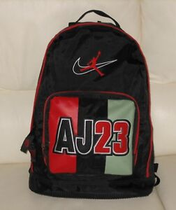 Nike-Air-Jordan-AJ-23-Backpack-1990-039-s-jumpman-ORIGINAL-vintage-sneakers-I-IV-XI