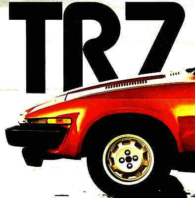 1979 Triumph Tr7 Brochure - Triumph Tr7 Convertibile