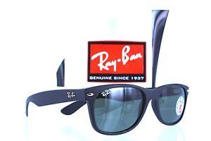 b41668ae51 Ray-Ban Wayfarer RB2132 622 58 Black Green Classic Sunlasses 55mm ...