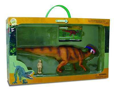 CollectA 89577 Parasaurolophus Model Dinosaur Prehistoric Toy 1:40 Replica NIB