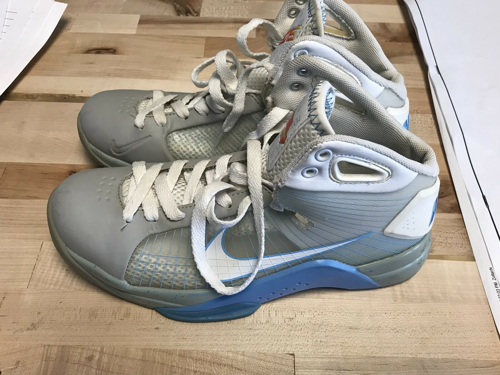 Nike Hyperdunk Supreme The Marty McFly Back To The Supreme Future BTTF Shoes Mens Size 8.5 b61c8e