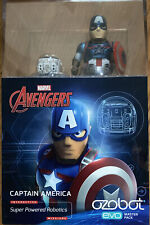 Details about  /Ozobot Captain America Super Powered Robotics evo master pack