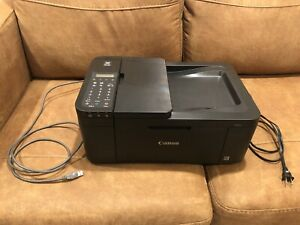 Canon PIXMA TR4522 Wireless Inkjet All-In-One Printer Tested With Cables No Ink