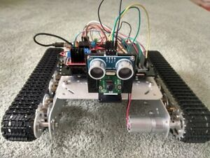Robot-tank-powered-by-Raspberry-Pi-AI-ready-with-Tensorflow-and-OpenCV