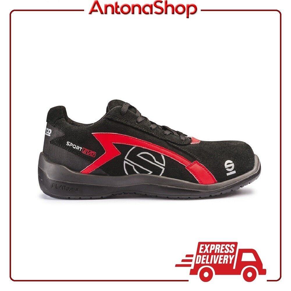 shoes Antinfortunistica Sparco Sport Evo S1P NRRS Bassa Scarpa Lavgold qualità