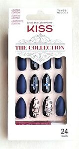 KISS 24 Glue-On HALLOWEEN Nails The Collection MEDIUM ...