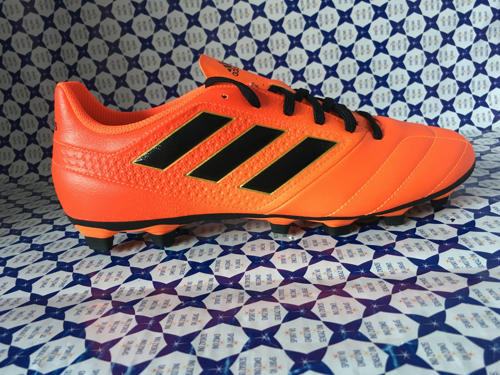 zapatos Calcio Adidas ACE 17.4 FXG -- Arancio Fluor -- S77094