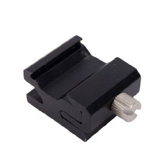 Shoe Flash Stand Adapter with 1/4-inch -20 Tripod Screw FP