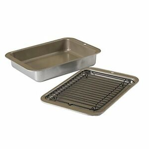 ... Bakeware > See more Nordic Ware Compact Ovenware 3-Piece Baking Se