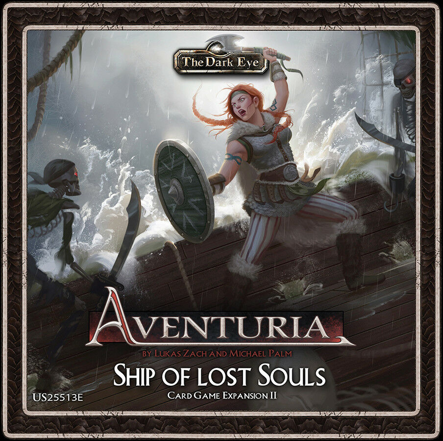 NEW The Dark Eye  Aventuria Adventure Card Game - Ship of Lost Souls Expansion
