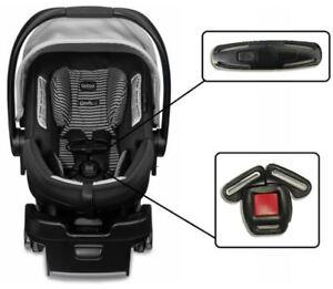 Details About Britax B Safe 35 35elite Infant Baby Car Seat Harness Chest Clip Buckle Set