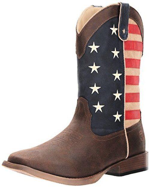 Roper Mens American Patriot Western Boot- Pick SZ color.