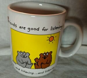 1986-Hallmark-Shoebox-Greetings-Mug-Friends-are-good-for-listening-white