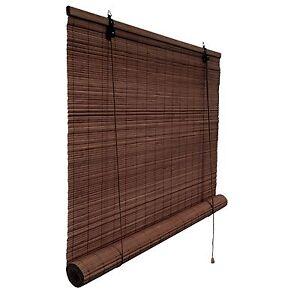 seitenzugrollo bambus rollo bambusrollo schnurzug vorhang. Black Bedroom Furniture Sets. Home Design Ideas