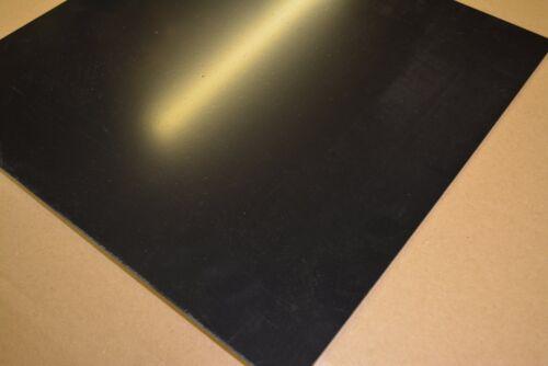 "BLACK  ABS  PLASTIC SHEET  1//16/"" x 48/"" x 8/"""