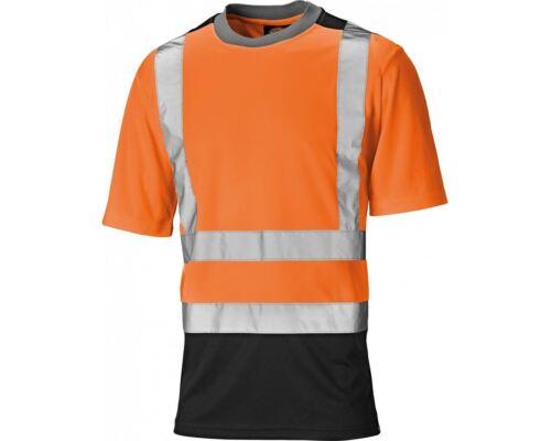 Dickies SA22081 Hi-Viz dos tonos Tee T-Shirt