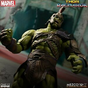 Mezco-One-12-Collective-Thor-Ragnarok-Gladiator-Hulk-Action-Figure-NEW