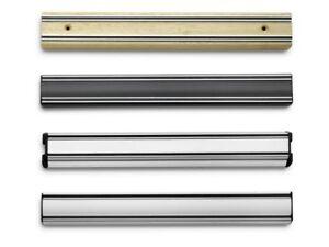 Wuesthof-Magnethalter-Magnetleiste-Messerleiste-Holz-Kunststoff-Aluminium