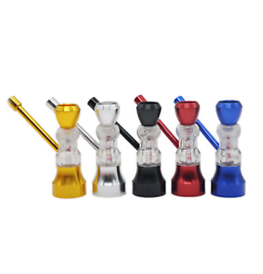 Details about Mini Metal Hookah Water Bong Smoking Pipes Glassware Shisha  Tobacco Bowl