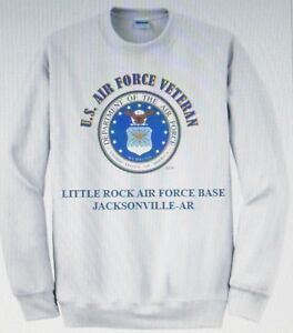 LITTLE-ROCK-AIR-FORCE-BASE-JACKSONVILLE-AR-AIR-FORCE-EMBLEM-VETERAN-SWEATSHIRT