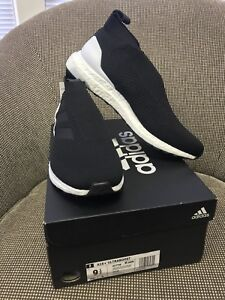 77fc72bdbd8 Adidas Ace A16+ Ultra Boost AC7748 Core Black Size 9.5 191031069804 ...