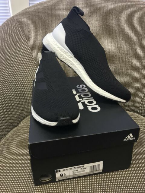 online store 6cd35 49e1f adidas A16 Ultraboost Size 9.5 US Ac7748 Ace A16 Ultra Boost Black