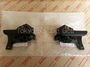 e67161ad25e0 Toyota Supra JZA80 Door Inside Handle RH + LH set NEW Genuine OEM ...
