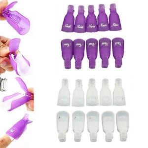 10-20-Gel-Nail-Polish-Remover-Wraps-Clips-UV-Soak-Off-Pedicure-Fashion-Nail-Spa