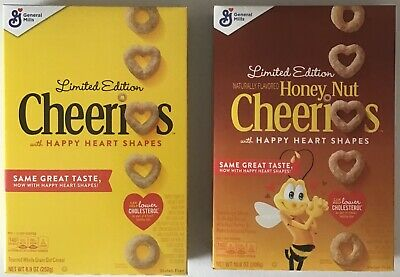 Limited Edition Heart Shaped Cheerios