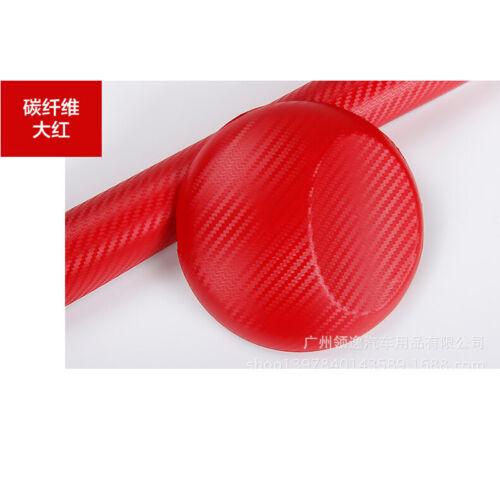5D Premium HIGH GLOSS Carbon Fiber Vinyl Film Wrap Bubble Free Air Release aua