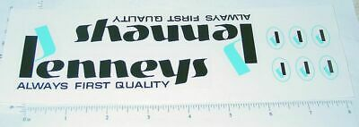 Mini Tonka JC Penneys Volkswagen Bug Replacement Stickers TK-233