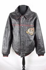 Vintage 1975 Avirex Gamblers Club flight Pilot Biker Motorcycle Leather Jacket L