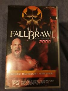 RARE-WCW-Fall-Brawl-2000-VHS-Excellent-Condition-Non-Rental