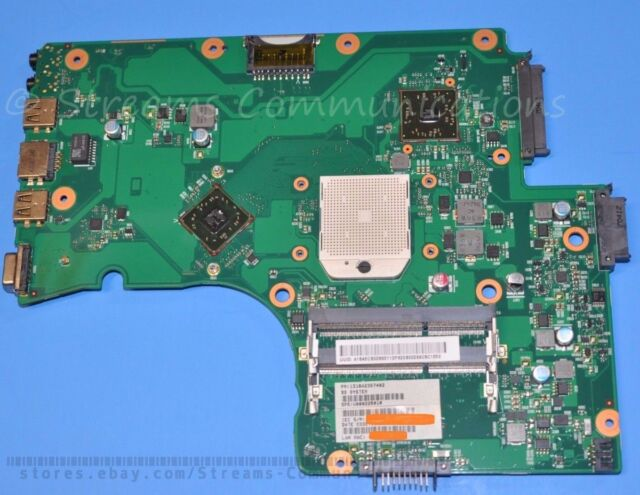 TOSHIBA Satellite C655D AMD Laptop Motherboard V000225010