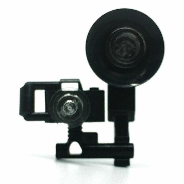 LEGO Minifigure Black Handheld Camera x2 Photography Accessory