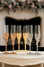 Unik Occasions Wedding Toasting Glasses and Cake Serving Set