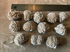 Selenite Desert Rose Crystals -  Very Nice Specimens! - (1) Pound ~ 12 Crystals