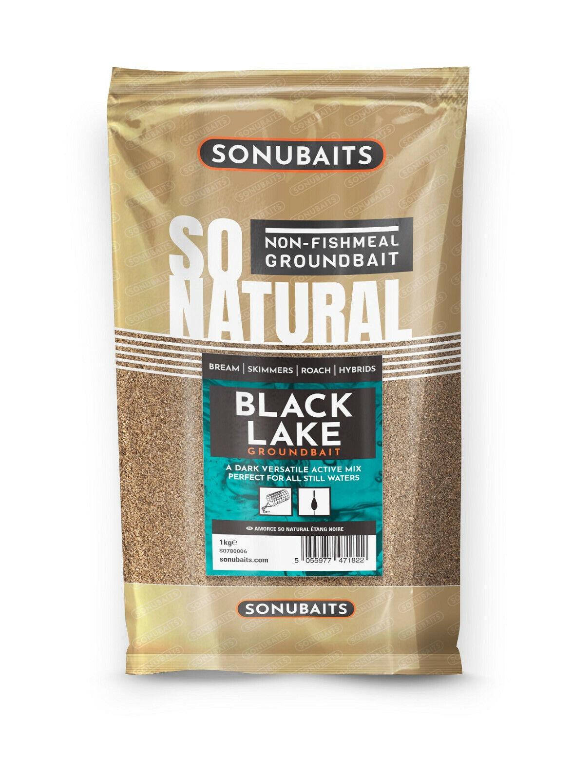 Sonubaits Supercrumb Black 1kg Lockfutter Futter