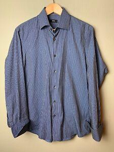 Men-039-s-Hugo-Boss-Button-Down-Dress-Shirt-16-5-32-33-French-Cuffs